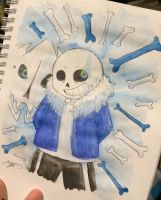 Watercolours Bad Time by Niutellat