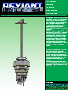 Deviant Universe: The Fortress by bogmonster