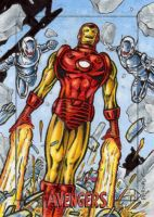 Iron Man - Avengers Silver Age by tonyperna