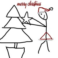 Stickman xmas time by candyass112