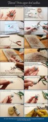 Tutorial wire copper Bird by UrsulaJewelry
