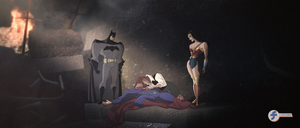 Death of Superman - JL Fan Art Contest Entry by JTSEntertainment