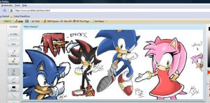 Sonic scribbles by RGXSuperSonic