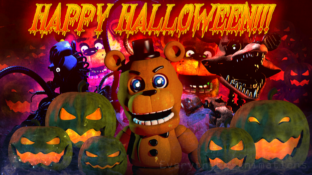 Happy Halloween!! by EverythingAnimations