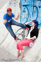 Miraculous Ladybug | Nino and Marinette | I by Wings-chan