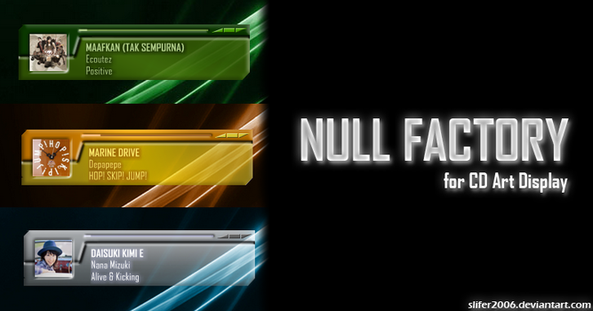 Null Factory for CAD by Slifer2006