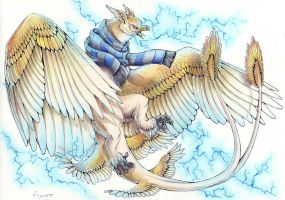 + Ravenclaw - The Thunderbird + by DorkWolf-Nightmare