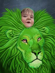 Leo's Lion by DaMaupin
