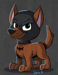 Bat-Hound by Sibsy