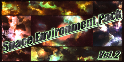 Space Environment Pack Vol.2 by BlenderAdept