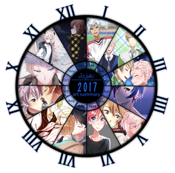2017 Art Summary by Jojuki-chan