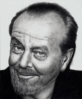 Jack Nicholson - Commissoned by Doctor-Pencil