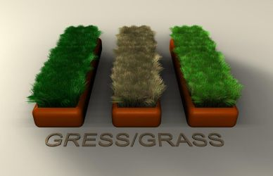 Gress-Grass 2 by Neon-Monkey