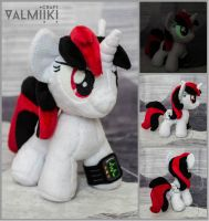 Plushie chibi Blackjack by Valmiiki