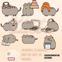 +PACK DE PUSHEEN CAT. by celestebg
