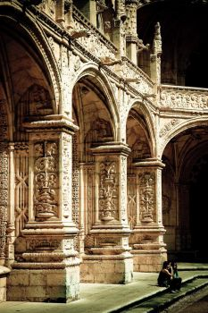 cathedral cloister by andreini