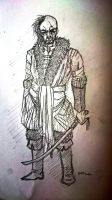 #119 Slavic Samurai by MechanicPigeon