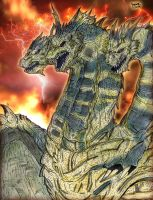 GFW: Keizer Ghidorah (The Dragon of Apocalypse) by AVGK04