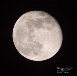 Moon _ Almost Full by gazmuth