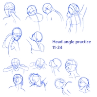 Head Angles Practice - 11-24 by sarahyt