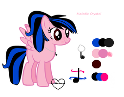 Melodie Crystal new style by rainbowshy14