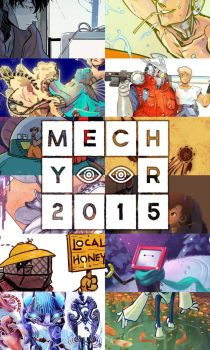 MECH YEAR 2015 [Calendar!] by soltian