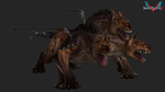 devil may cry 5: king cerberus by rotten-eyed