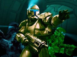 Star Wars Republic Commando by Stealthero