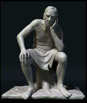 Old Philosopher by Intervain