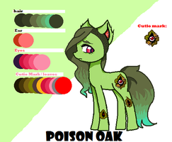 Poison oak by piping-hot-studio