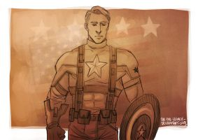 CA - Captain America by the-evil-legacy