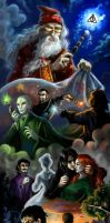 The Deathly Hallows by Skarlessa