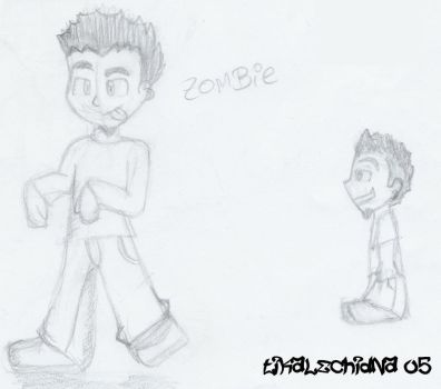 Mr. Zombie Shinoda by fortminor-fans