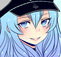 Esdeath Againnn by ixh