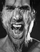 Splash Scream (Pencil Drawing) by Paul-Shanghai