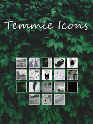 Temmie Icons by chloechantelle
