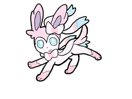 Sylveon Generation 6 by izze-bee