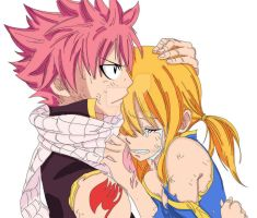 Fairy Tail - Natsu and Lucy 2 by MonkeyDDante