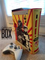 Star Wars Custom Xbox 360 Console by CreativeBoxGaming