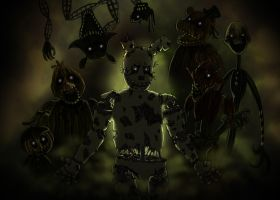 Five nights at Freddy's 3 by Leda456