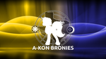 A-Kon Bronies wallpaper 2012 by technokoopa