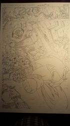 sonic comic origins rotor pencils by trunks24
