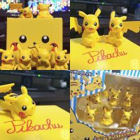 Pikachu Figurines by Quas-quas