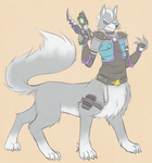 Starfox Taurs #3 - Wolf O' Donnell by dragonheart07