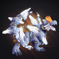 Tyrantrum x Mega Steelix