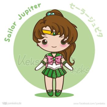 Sailor Jupiter - Vector Chibi by yumkeks
