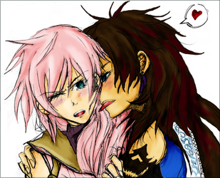Lightning x Fang - in color by jewlecho
