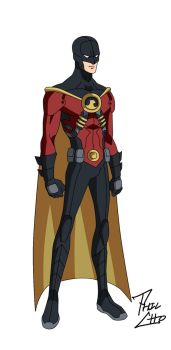 Red Robin: Tim Drake v.1 by phil-cho
