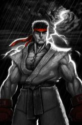 SFV RYU Digital Rendering by danimation2001