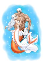 Mer-Couple : Goldeen and Seaking